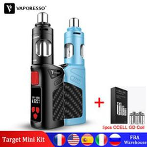 Vape TARGET MINI Kit Built-in 1400mAh Battery  Guardian Tank Atomizer 2ml CCELL GD SS Coil Electronic Cigarette