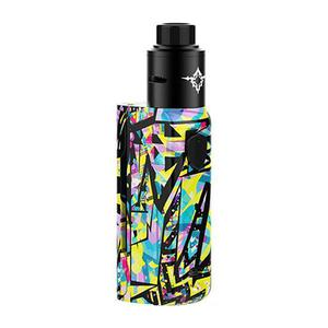 Rincoe  Manto Mini 90W VW  w/ Metis Atomizer Kit - Graffiti D