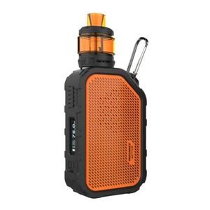 Active 80W 2100mAh TC VW  w/ Amor NS Plus Atomizer 2.0ml/4.5ml Kit - Orange