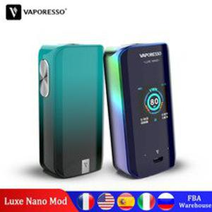 Original  Luxe Nano 220W  E-cigarette Vape Mods with 2500mAh Built in Battery for SKRR S NRG SE VM 510 Tank