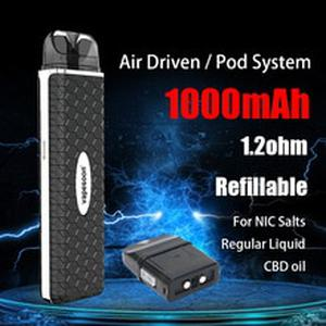 vapesoon VSA Pod Vape Starter Kit with 1000mAh Battery 2ml Pods System vs Zero minifit AI Saber Pod Device e-Cigarette