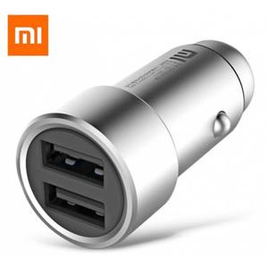 Original Xiaomi Fast Charging Car Charger Metal Style -SILVER