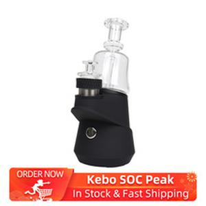 New Kebo SOC Peak Enail Portable Vaporizer Vape Kit 2600mAh battery & Temperature Settings Dab Rig Kit VS Oura Black/Puffco Peak