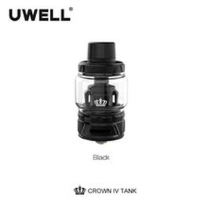 Crown IV  Crown 4 Tank With Dual SS904L Coil & self-cleaning technology 2ml /6ml  Subtank Atomizer E-cigarette Vaporizer