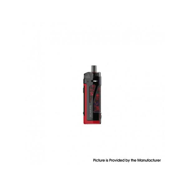 SCAR-P5 80W VW  Pod System Vape Starter Kit - Red