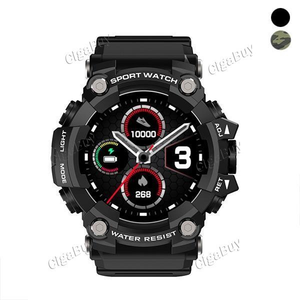 T6 1.3 inch Tactical IP68 Waterproof BT5.0 mart Watch Bracelet Full Touch