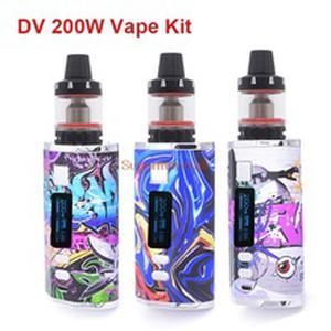 Newest DR200W Vape Kit box mod huge vapor with 2 build-in batteries 4400mah 3.0ml Vaper Tank Vaporizer vapor Vape Pen kit