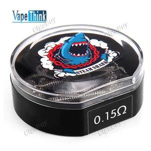 10 x  VapeThink Staple Staggered Fused 0.15Ω Wire Coil