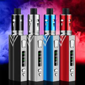 100w Diamond Vape Kit E-Cigarette Vaper 2000mAh Battery 3.5ml With Huge Vapor Atomizer Electronic Cigarette Vaporizer box vape