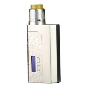 Luxotic MF 100W BF Squonk  w/ Guillotine V2 Atomizer Kit w/ 7.0ML Bottle (With Screen Version) - Silver