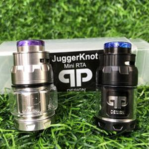 RTA Atomizer QP Mini Juggerknot Style 24mm Rebuildable Vape Tank Top Airflow Coil Design Dual/Single Coil for 510 eCigarette mod