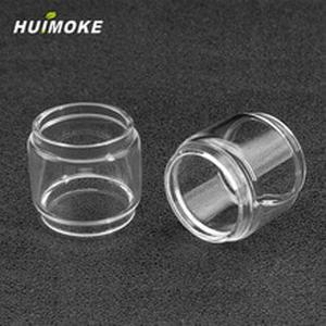 E-cigarette Merlin Mini pyrex Pure Glass Tube Replacement For  Merlin Mini RTA 24mm including Straight or Fat Style