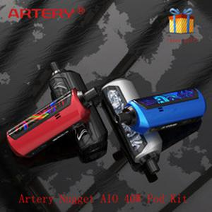 Hot Artery Nugget AIO 40W Pod Kit 1500mAh built-in battery with Max 40W output E-cig  Pod Kit vs Vinci X/ pal 2 pro
