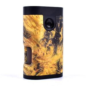 ARM Style Stable Wood 18650 Squonk Mechanical Mod by Shenray - Yellow