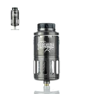 (Presale) Authencit  Profile RDTA Atomizer 6.2ml - Rainbow - Gunmetal