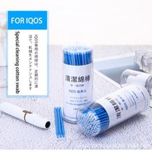 E cigarette Cleaning Cotton Swab For iqos3.0 Single-head Soft cleaning head 100 pack for iqos2.4 serious Products