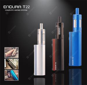 Original  Endura T22 Kit with 2000mAh  battery and 4ml Prism Tank with coil ECigarette