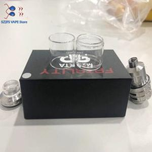 5PCS Good quality Nice Glass Tube Replacement for QP Fatality M25 RTA Normal Version 4ml/Fatboy Version 5.5ml vs qp gata