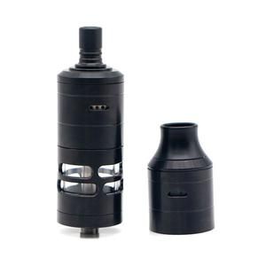 Korina V6 MTL 23mm RTA  W/ DL Replacement Cover Kit 6ml/ with logo - Black