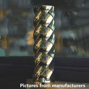 Complyfe Vortex Style 18650  Mechanical Mod 25mm by Marstech - Brass