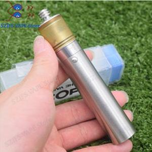 e-cigaretteYFTK Stratum zero mod kit 18650/20700/21700 battery mechanial mod with Patibulum Style 316SS 25mm RTAvsKennedy25/sob