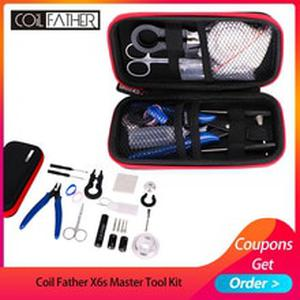 X6s Master Tool Kit V3 12 Different Useful Vape Tool Kit/ VS Electronic Cigarette DIY Tool Kit 2 Colors Available