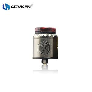 Advken Artha V2 RDA 24mm Tank with 810 PEI Drip Tip Rebuildable Atomizer for Electronic Cigarette