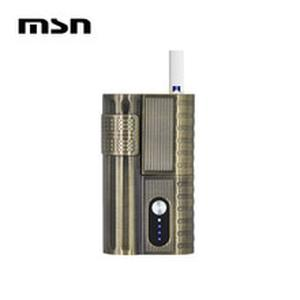 MSN vape box mods 2300mAh electronic cigarette machine fashion heat not Burn vape kits Zippo shape compatible with iO*S stick