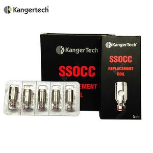 Original Kanger SSOCC Coils Replacement 0.5 1.2 1.5ohm Coil Head Core for  Vape Tank Kits