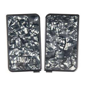 Replacement Front + Back Cover Resin Panel For Subveter Mod  - Black