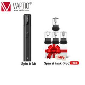 Spinnable drip tip Original  Spin IT vape Kit with 500mAh built in battery 15W 1.8ml tank starter Electronic cigarette kit