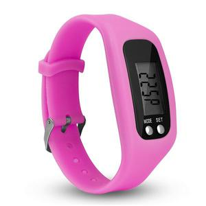 L8009  Movement Time / Step count / Calorie / Travel kilometer Intelligent hand ring - Pink