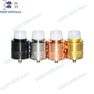 2019 warhead RDA 30mm diamater red copper/brass/stainless steel Adjustable Airflow Tank For Electronic Cigarette Hookah