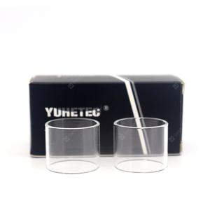 YUHETEC Replacement Glass Tank for  Crius 2 Dual Coil 2PCS