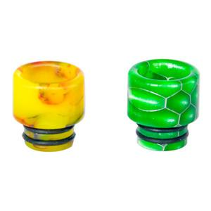 C2 Replacement 510 Resin Drip Tip  (2PCS) - Random Color