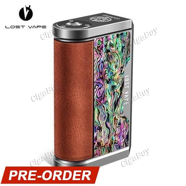 Centaurus DNA 250C 200W Mod - SS Cowhide NZL Abalone Shell