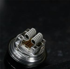 NEWEST QN Designs Fatality M25 RTA tank 25mm Diameter 5.5ml capacity dual single coil Rebuildable 810 Drip Tip top filling tank