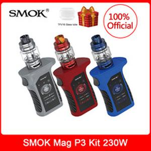 In stock! Mag P3 Kit 230W &TFV16 Tank TFV16 Conical Mesh Dual Mesh Coil IQ-M Chipset Waterproof E-Cigarette vape Kit VS Mag