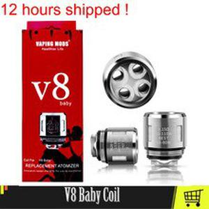 V8 Baby Coil Head Mesh 0.15 T8  Q2 0.4 M2 0.15 Replacement Atomizer Vape Coil For V8 Big Baby/Baby Atomizer Core