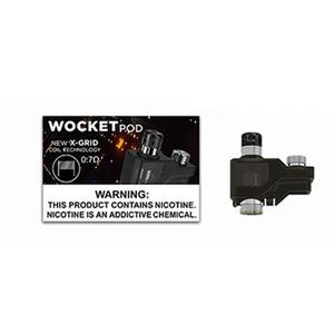 Wocket Replacement Pod Cartridge Fit for	 Wocket Pod System Kit - 0.7ohm