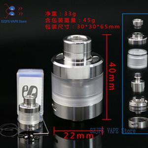 e cigarette Atomizer Sxk S-Tank 22mm Diameter Capacity 3.5ml 316ss material Single coil RTA vs Dvarw MTL RTA Goon v1.5 Nano rta