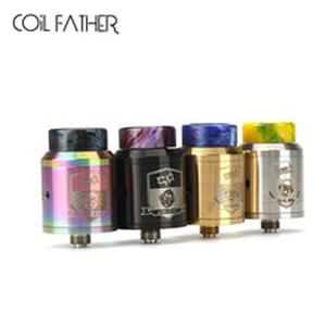 King RDA with BF PIN 810 Drip Tip 24mm Adjustable Airflow Tank For Electronic Cigarette Squonk