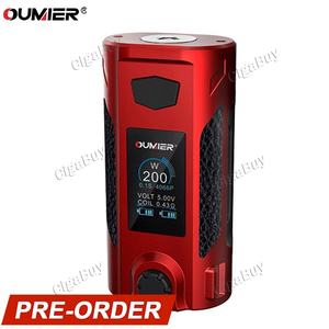 Oumier Rudder 200W TC  - Red