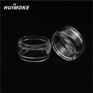 E-cigarette pyrex Pure Glass Tube Replacement For 100% Original GeekVape en RTA 24mm Tank  including Straight or Fat Style