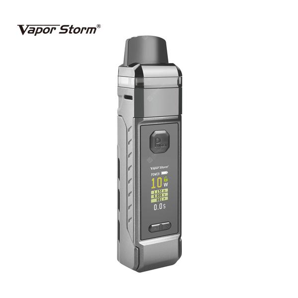 V-PM 40 40W Pod Mod Starter Kit E Cigarette with Mesh Coils 4.8ml Cartridge fit 18650 Battery VPM40 System Vaporizer vs RPM40 RPM80 Drag S