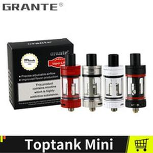 Grante Toptank Mini Atomizer 4.0ml Top Refilling Tank With 510 Thread Sub ohm 0.5ohm SSOCC Coils 510 Drip Tip Vape Tank