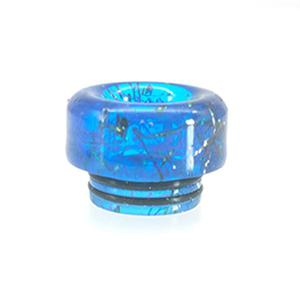 810 Replacement Rainbow Resin Drip Tip (1PCS) - Blue