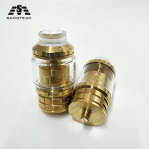 NEW QN Designs Fatality M25 RTA tank 25mm Diameter 5.5ml capacity dual single coil Rebuildable RTA 810 Drip Tip top filling tank