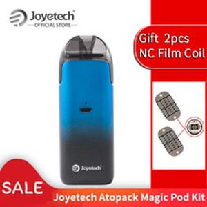 ON SALE Original  Atopack Magic Pod System Kit 7ml Coil-less 0.6ohm NCFilm Heater Built in 1300mAh E-Cigarette