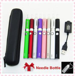 EVOD E-cigarettes zipper case EVOD MT3 vaporizer pen 650-1100mah eVod Battery MT3 atomizer with usb charger